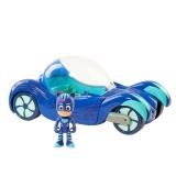 Машинка Кэтбоя (звуковые и световые эффекты) - Герои в масках / Deluxe Vehicle Catboy Car - PJ Masks. 9 см, 25 см.