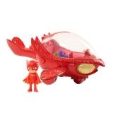 Машинка-корабль Алет (звуковые и световые эффекты) - Герои в масках / Owlette's Owl-Glider Vehicle - PJ Masks. 9 см, 28 см.