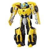 """Бамблби Турбо Трансформация """"Последний рыцарь"""" / Bumblebee The Last Knight игрушка Трансформеры. 21 см."""