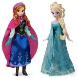 Анна и Эльза эксклюзивные куклы Дисней 2014 - первое издание. 31 см.